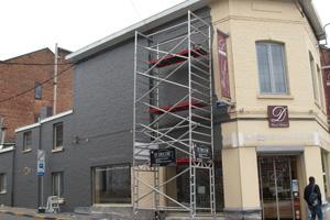 Peinture ext rieure de fa ades namur et en belgique - Peinture de facade exterieur prix ...